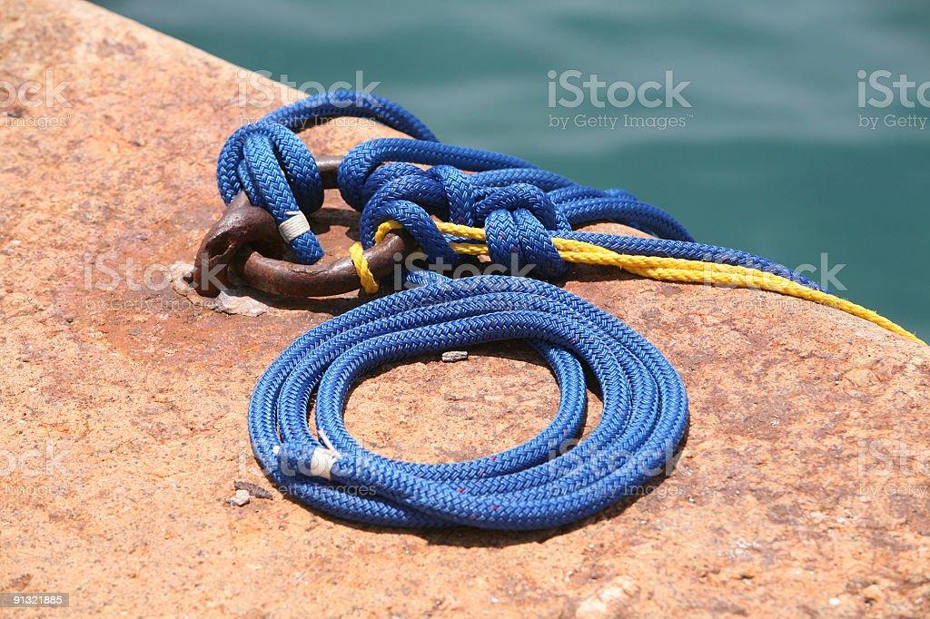 Bermuda dockside stock photo