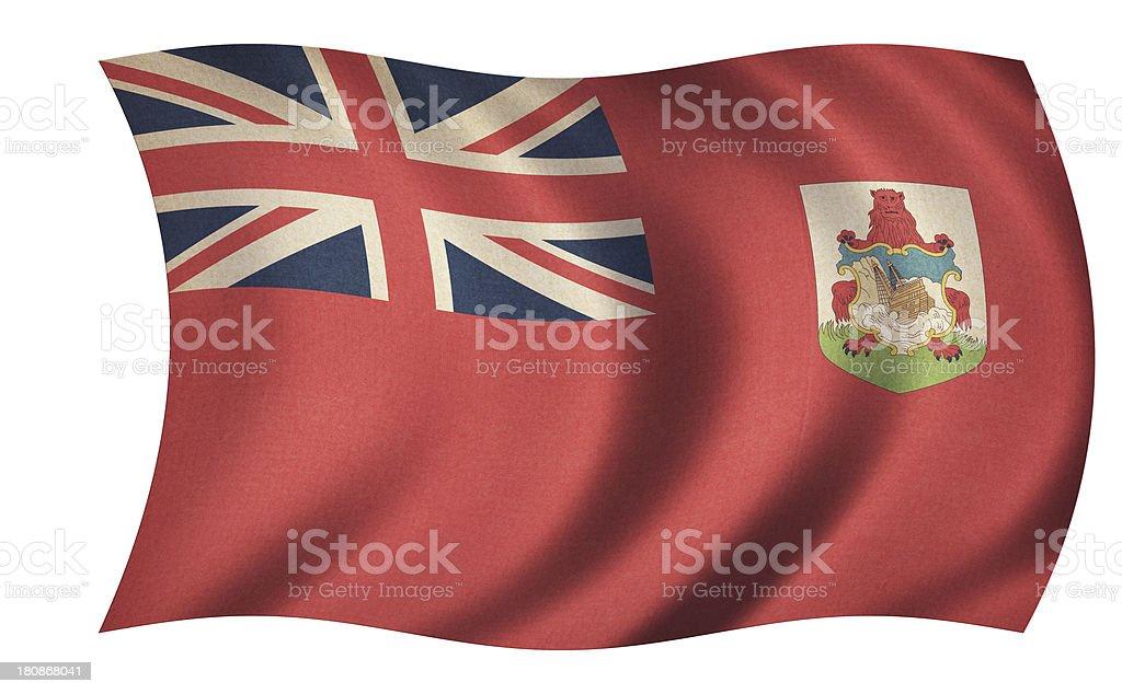 Bermuda Flag royalty-free stock photo