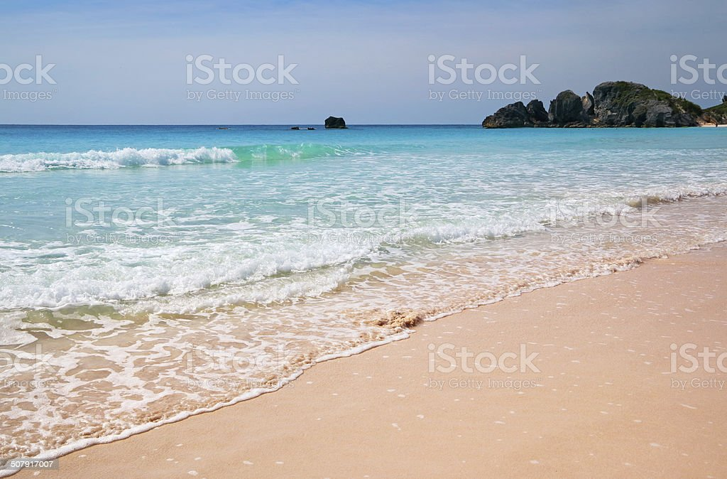 Bermuda Horseshoe Bay stock photo
