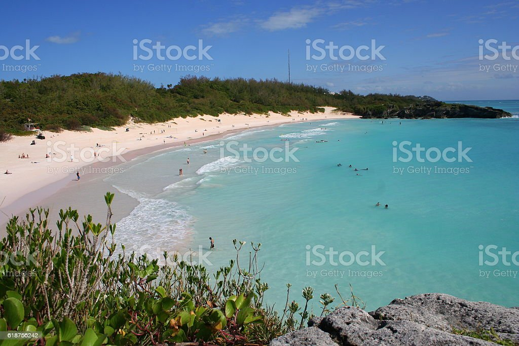 Bermuda, Horseshoe Bay stock photo