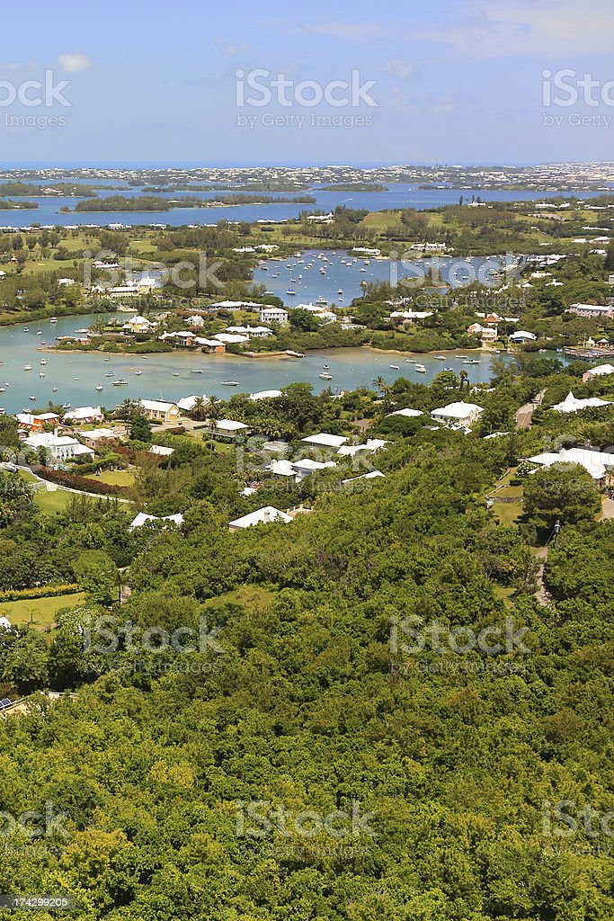 Bermuda Living stock photo