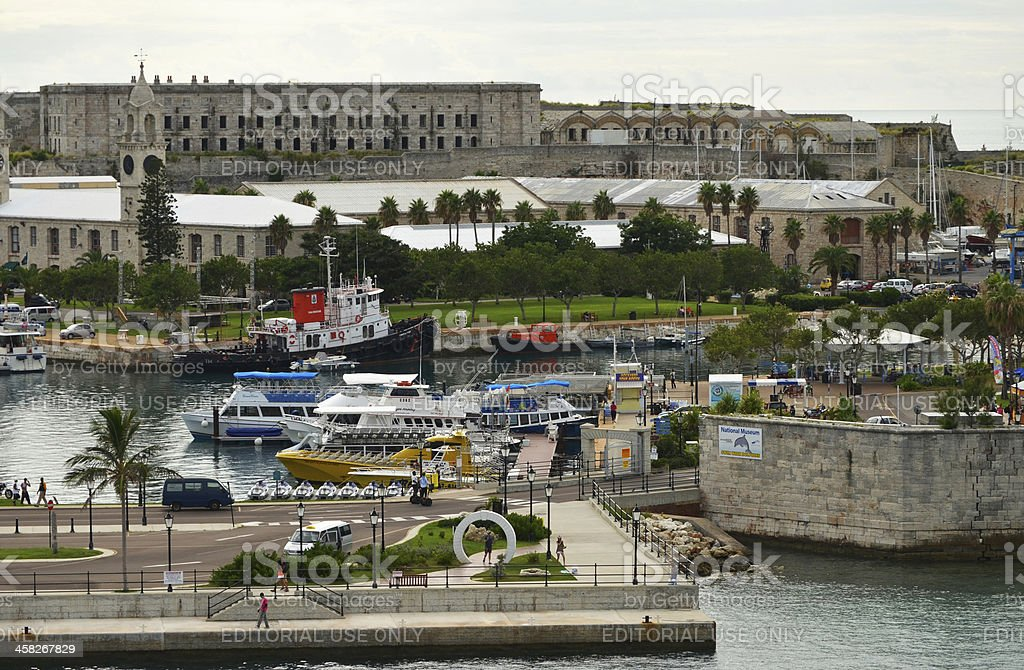 Bermuda - Royal Navy Dockyard royalty-free stock photo
