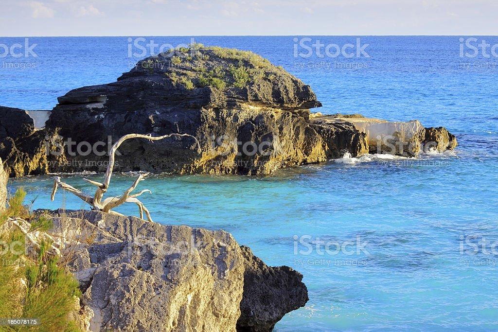 Bermuda Scenic Seascape royalty-free stock photo