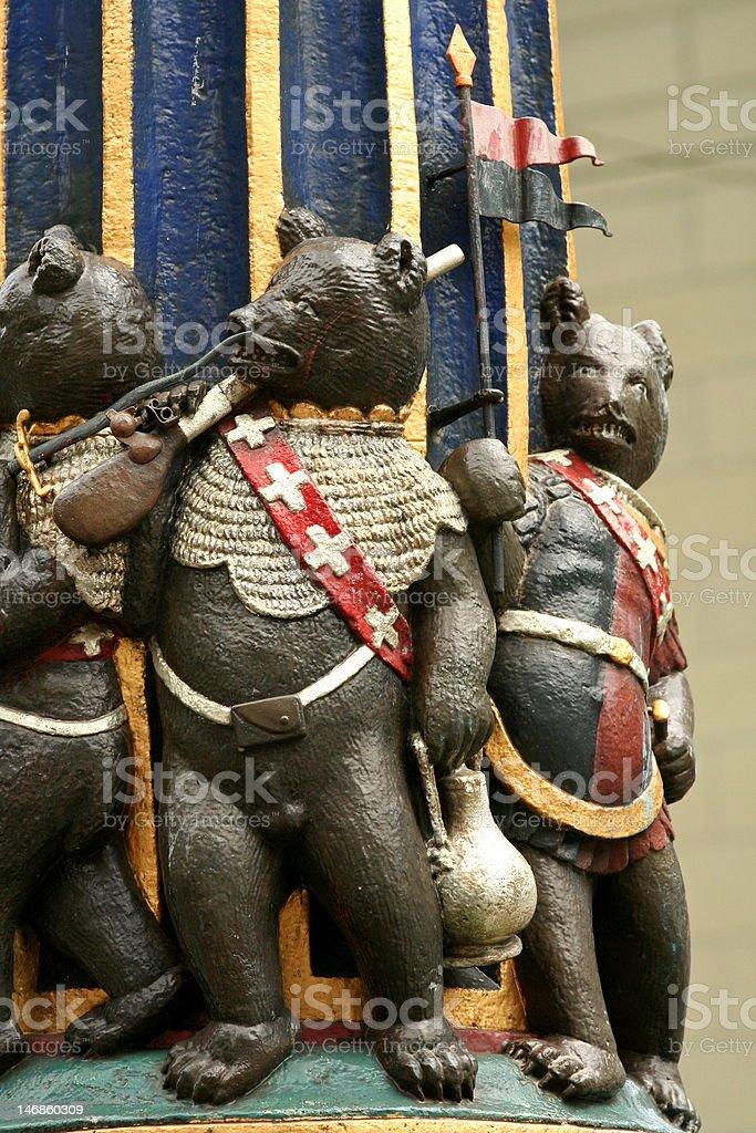 Bern Bear Statue royalty-free stock photo
