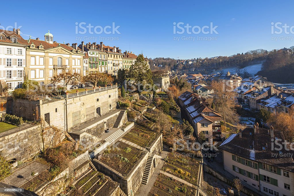 Bern capital of Switzerland stock photo