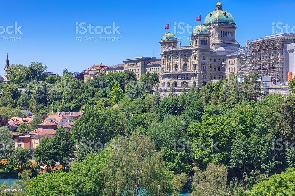 Bern cityscape stock photo