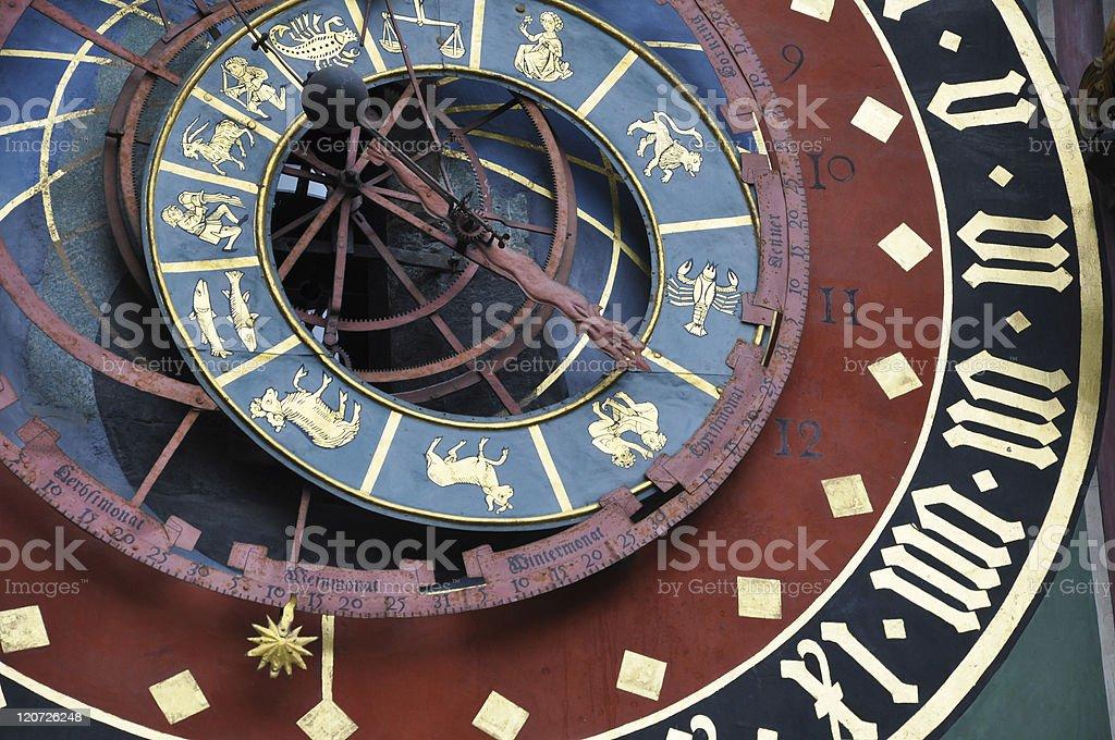 Bern clock royalty-free stock photo