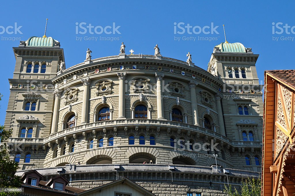 Bern - Federal Palace royalty-free stock photo