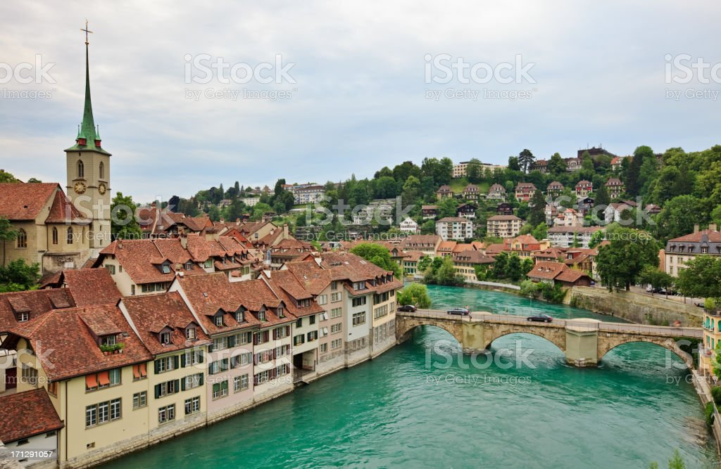 Bern stock photo