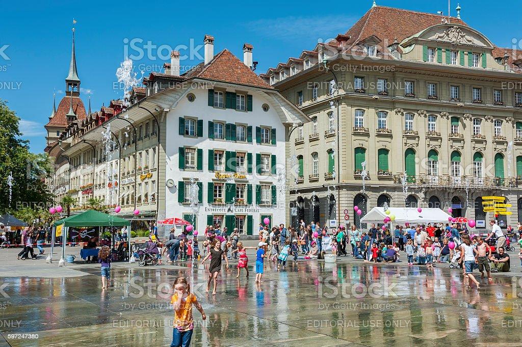 Bern, Swiss stock photo