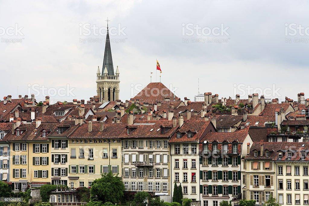 Bern, Switzerland City View stock photo
