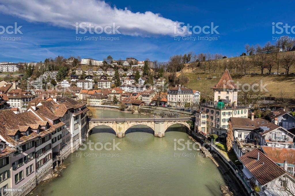 Bern the capital city of Switzerland stock photo