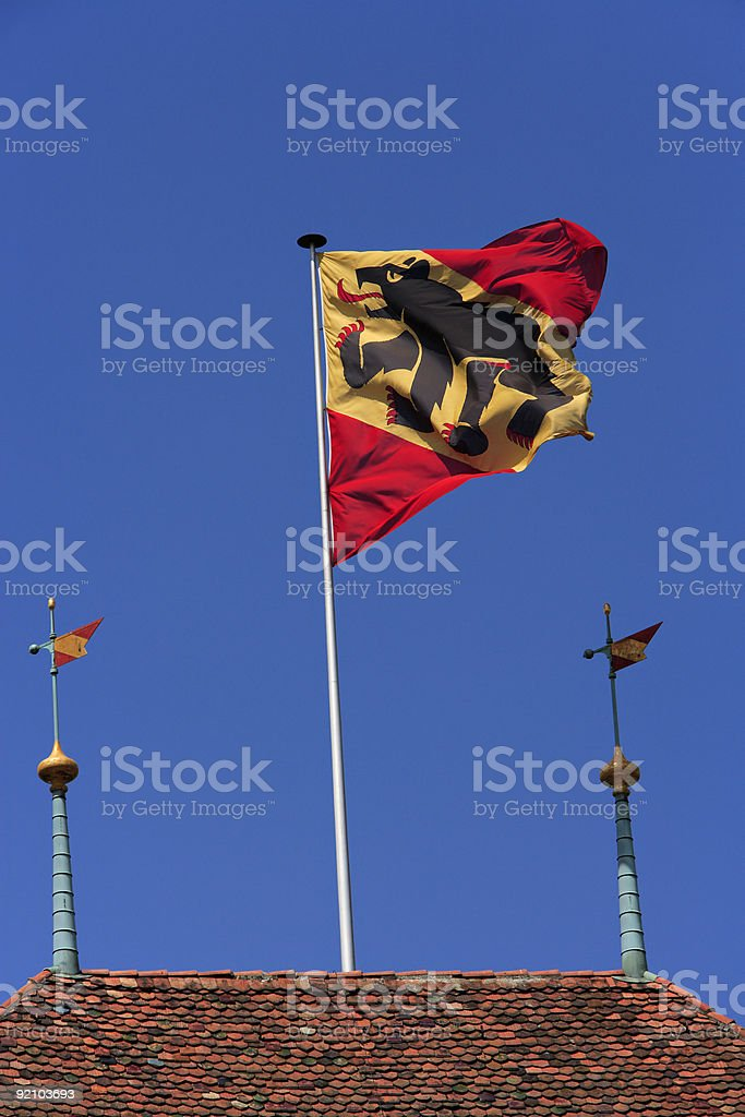Berne Coat of Arms royalty-free stock photo