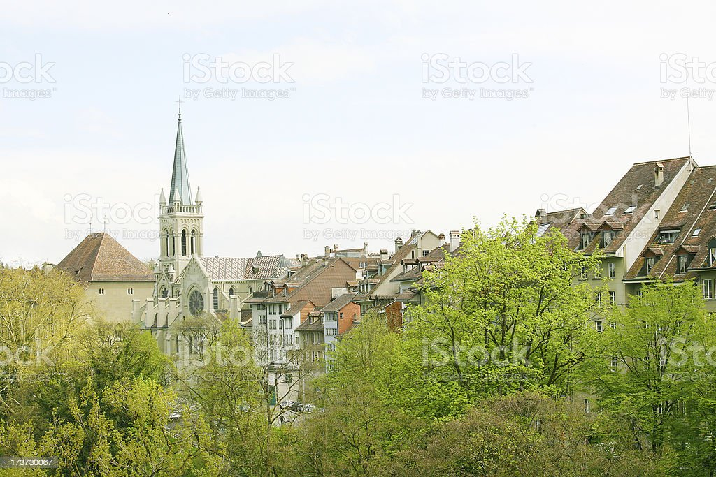 Berne, Switzerland. Beautiful old town. royalty-free stock photo