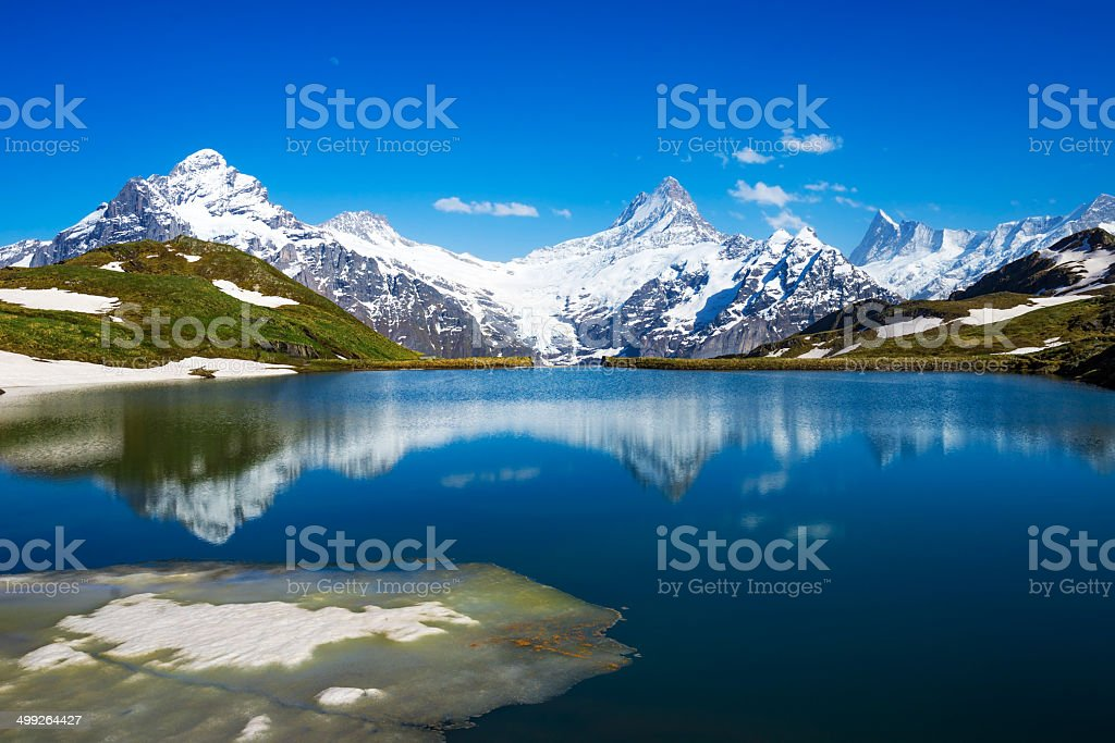 Bernese Alps stock photo
