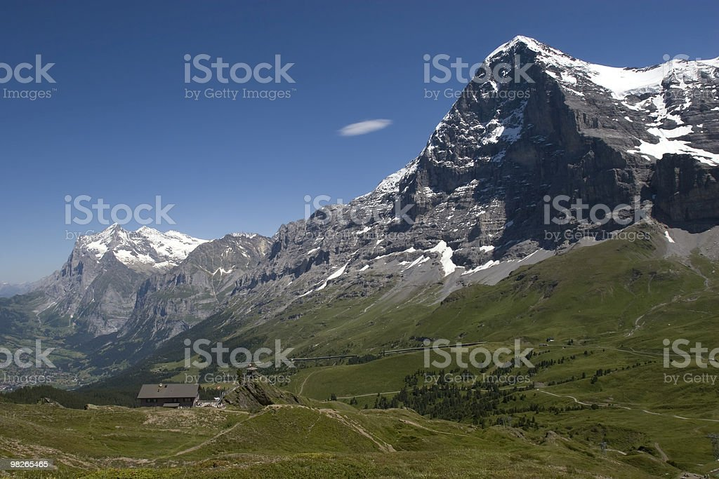 Berner Alpen royalty-free stock photo