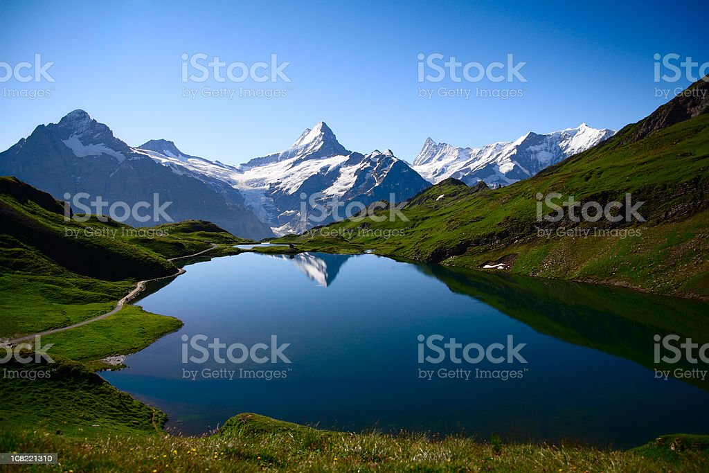 Bernese Oberland royalty-free stock photo