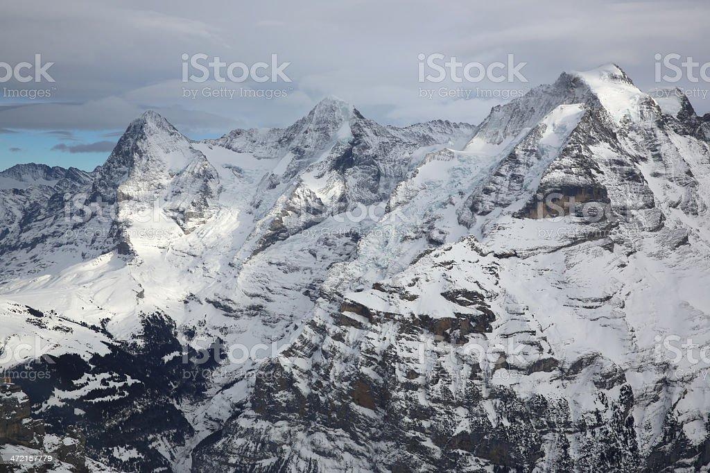 Bernese Oberland royalty-free stock photo