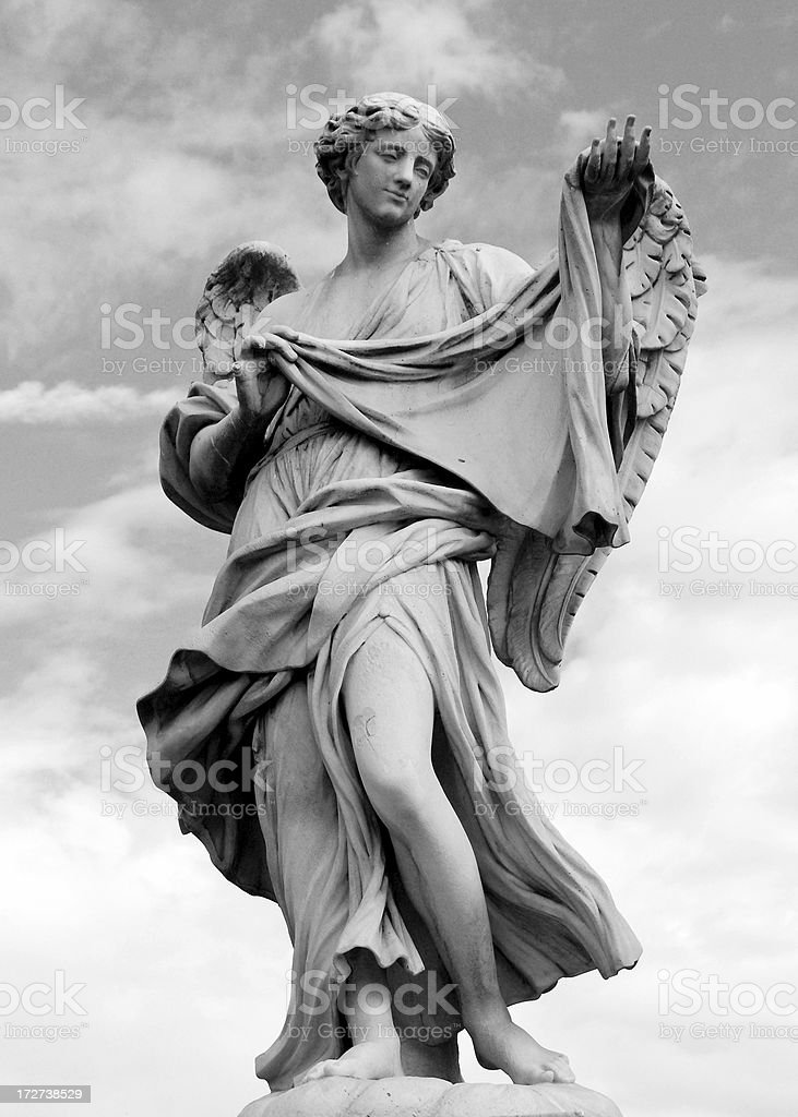 Bernini Angel Series royalty-free stock photo