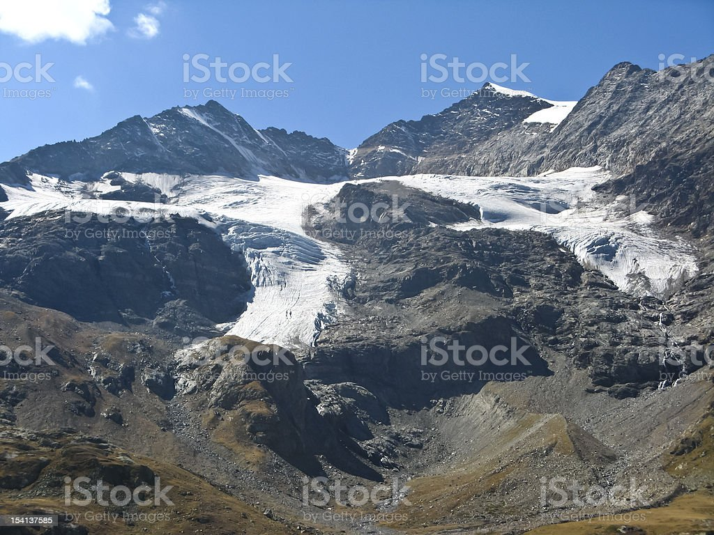 Bernin Piz royalty-free stock photo