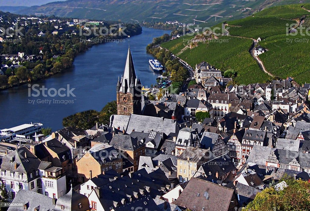 Bernkastel - Kues stock photo