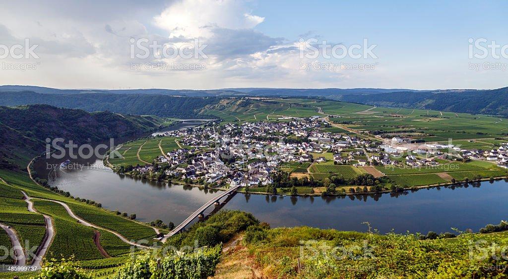Bernkastel-Kues Germany stock photo