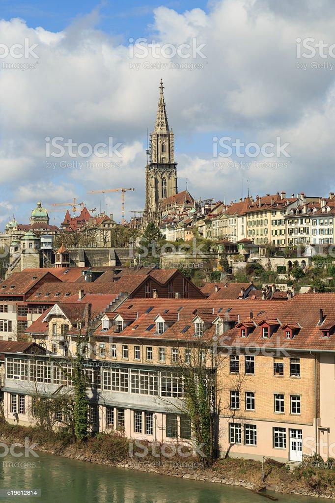 Berns Old City stock photo