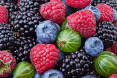 Berries as background