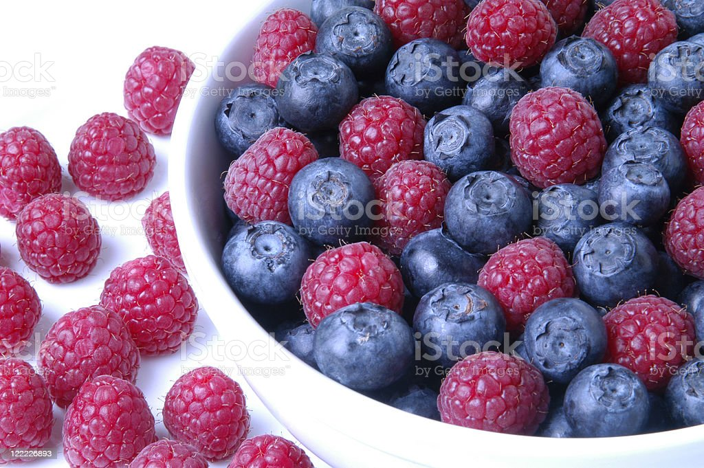 Berries in a Bowl royalty-free stock photo