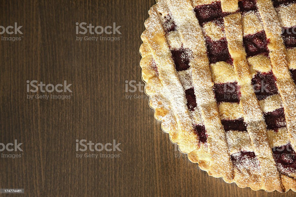 Berries pie royalty-free stock photo