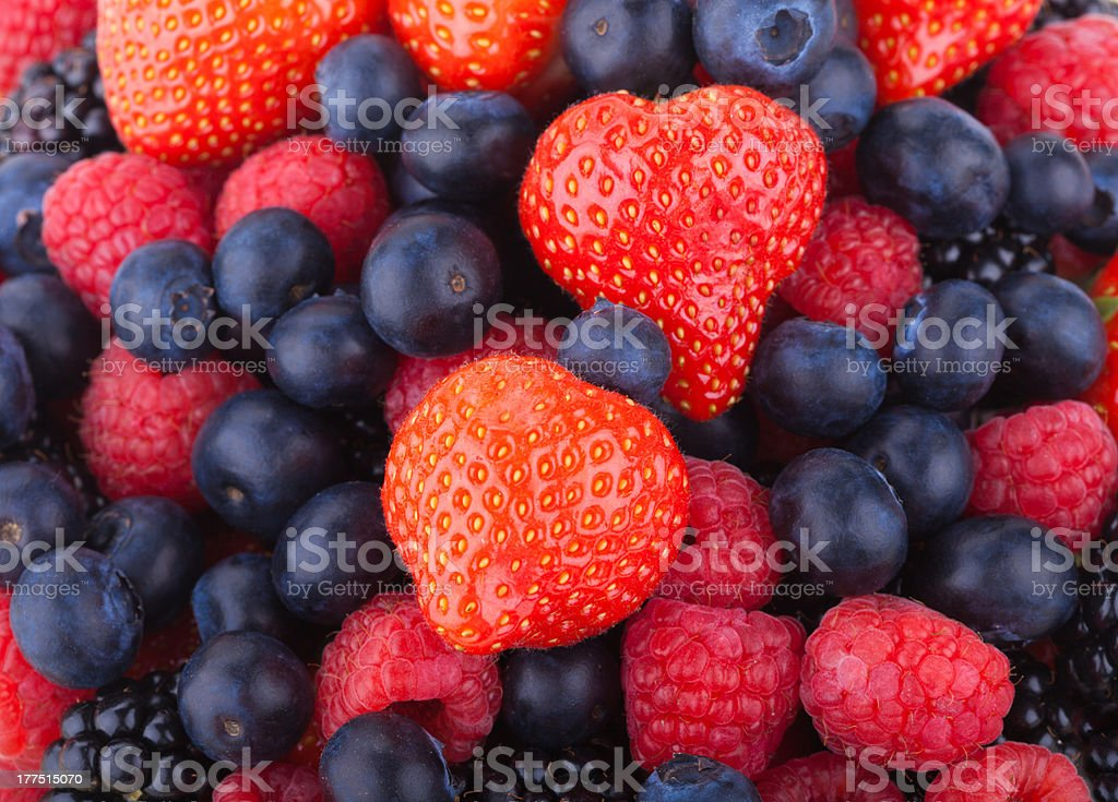 berry background royalty-free stock photo