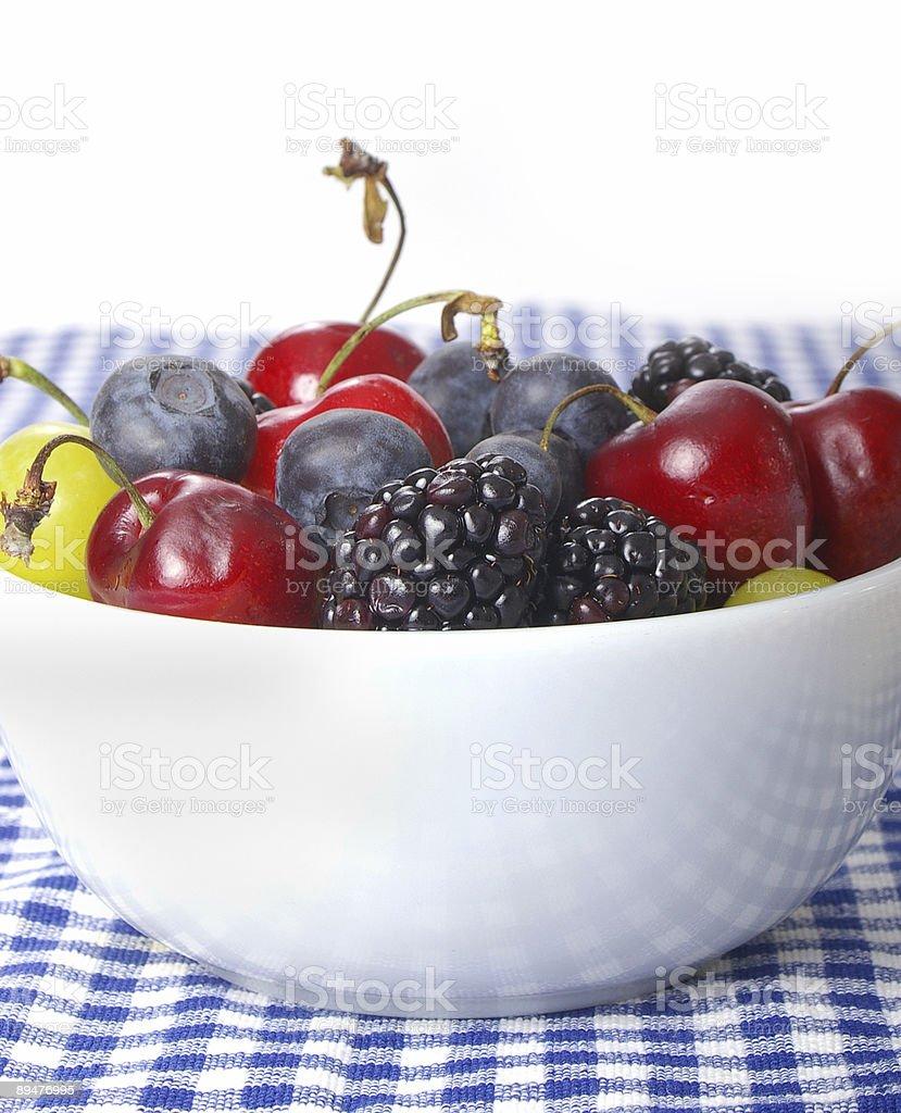 Berry Bowl royalty-free stock photo