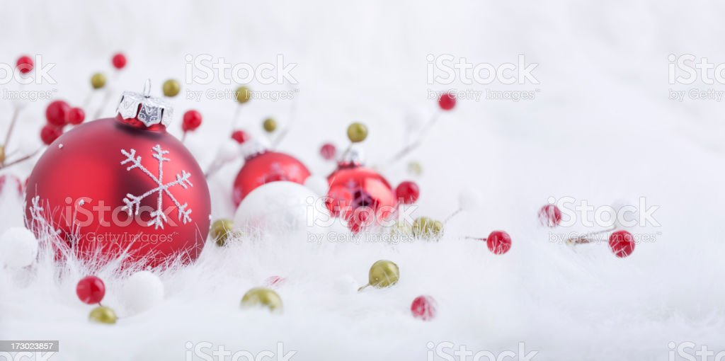 Berry Bright Baubles (XXL) royalty-free stock photo