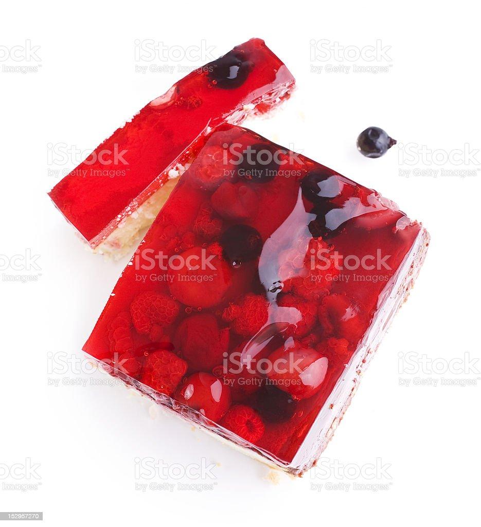 Berry cake royalty-free stock photo