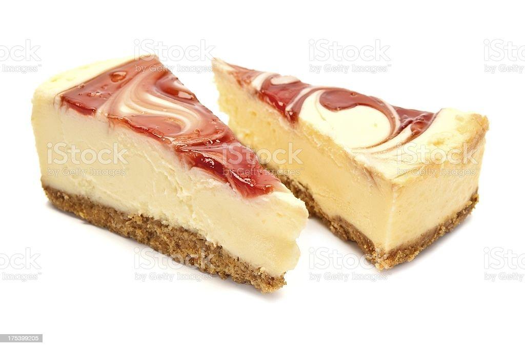Berry Cheesecake stock photo