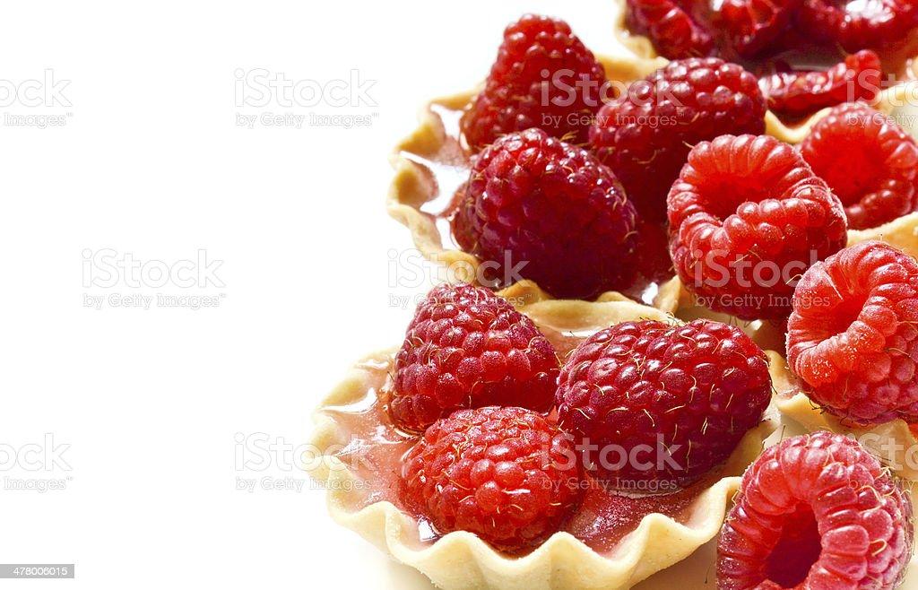 Berry dessert stock photo