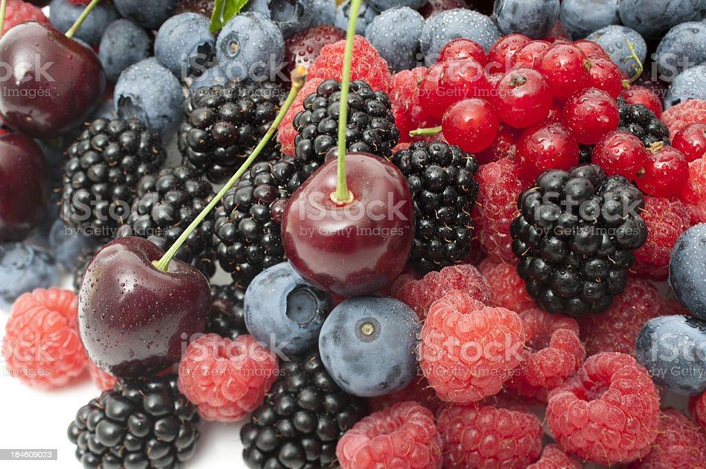 berry fruits stock photo