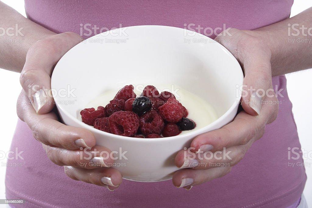 berry good breakfast royalty-free stock photo