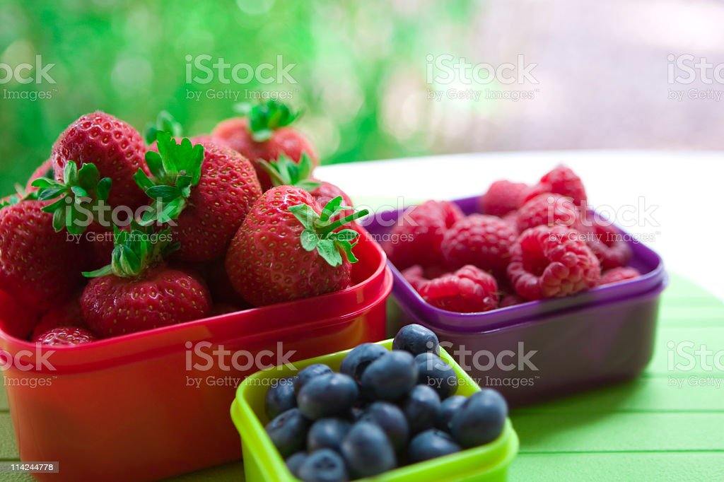 Berry good for you! royalty-free stock photo