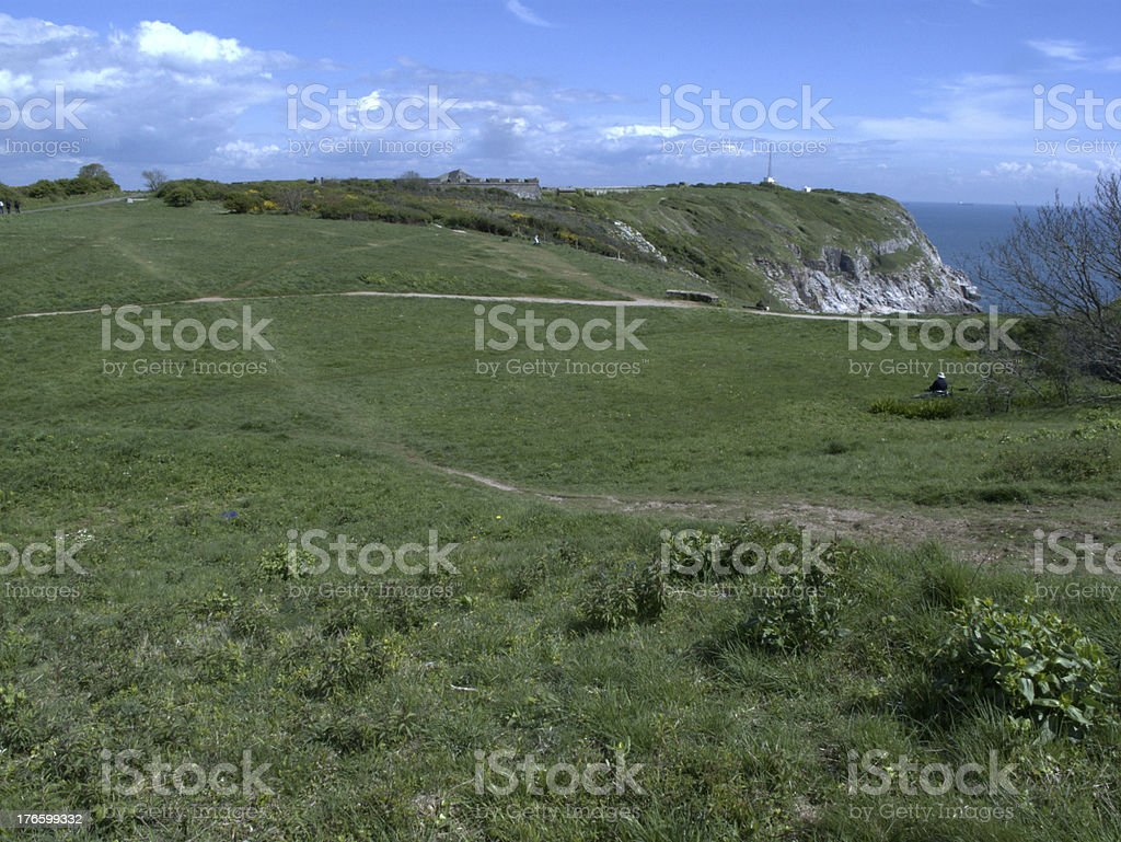Berry Head, Devon royalty-free stock photo