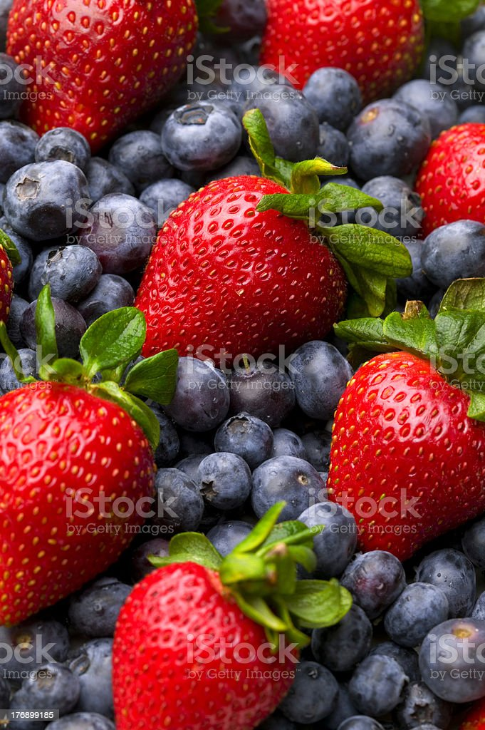 Berry Pattern royalty-free stock photo