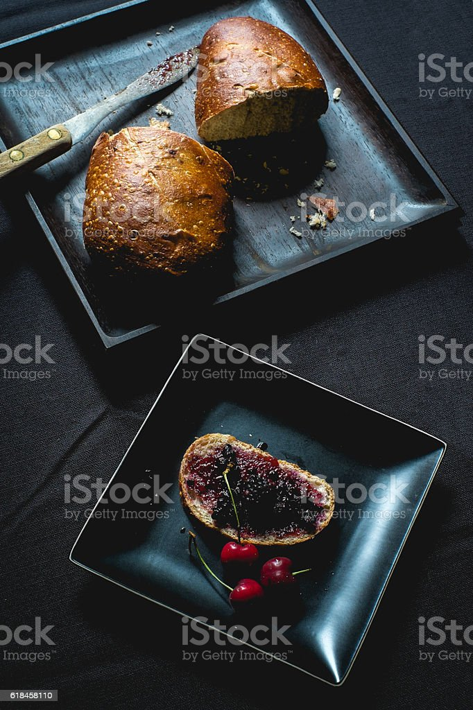 Berry Preserves stock photo