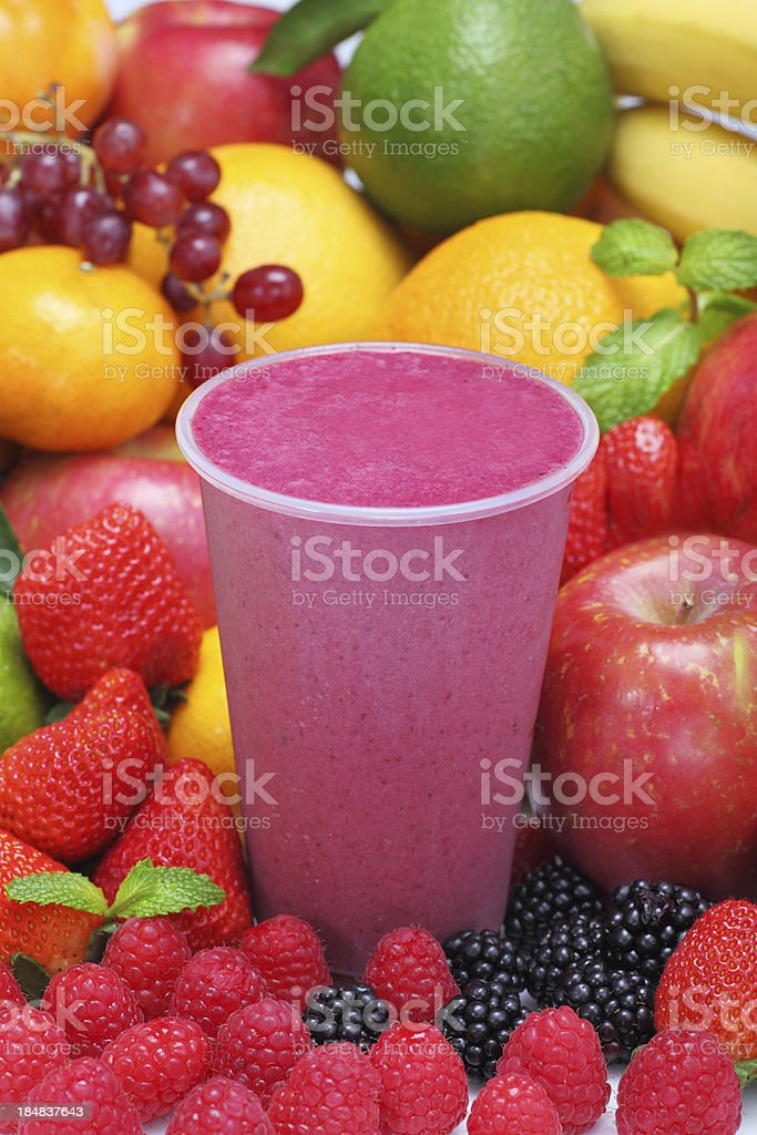 Berry Smoothie stock photo