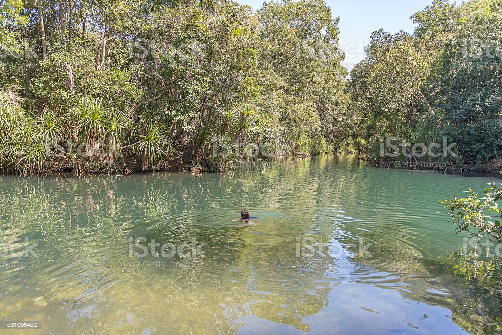 Berry Springs, Northern Territory stock photo