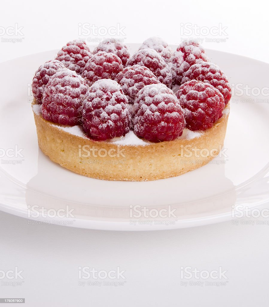 Berry Tart, Centred royalty-free stock photo