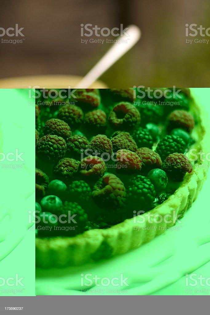 Berry Tart stock photo