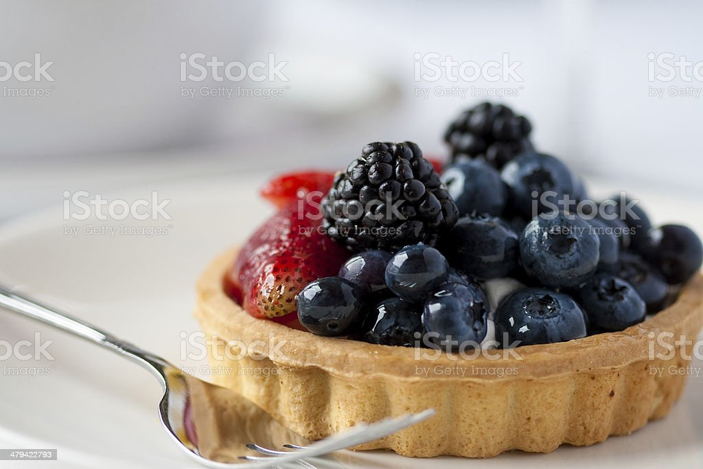 Berry Tart royalty-free stock photo