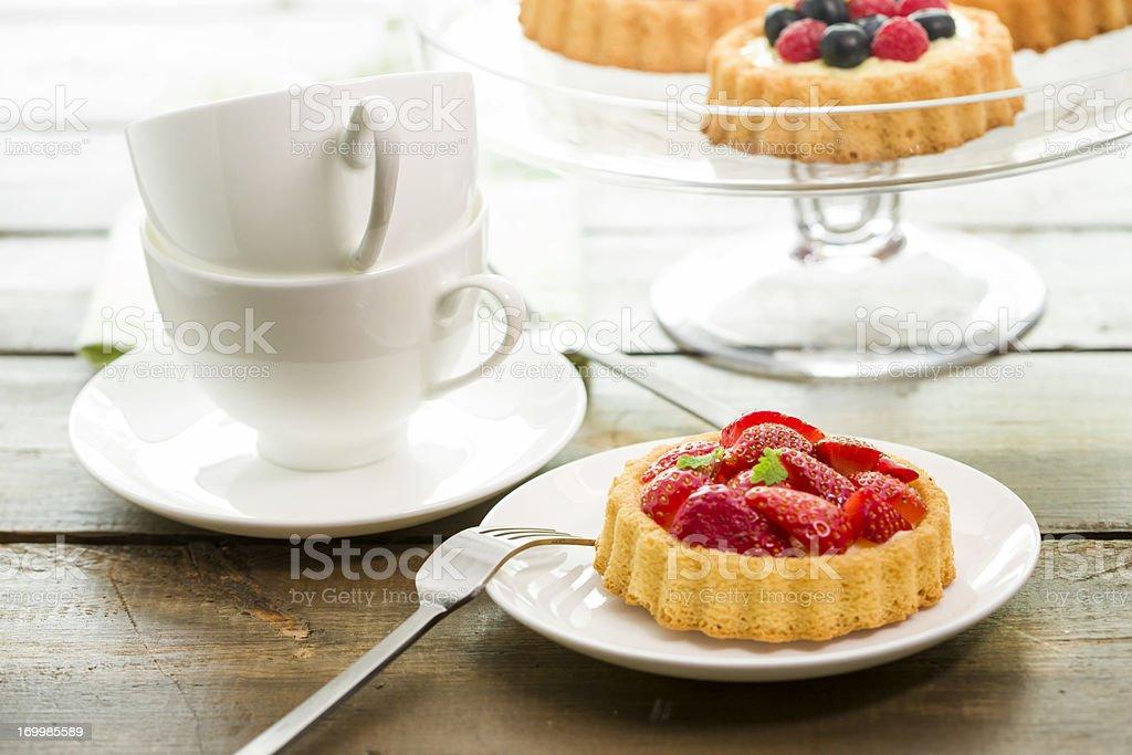 Berry Tarts stock photo
