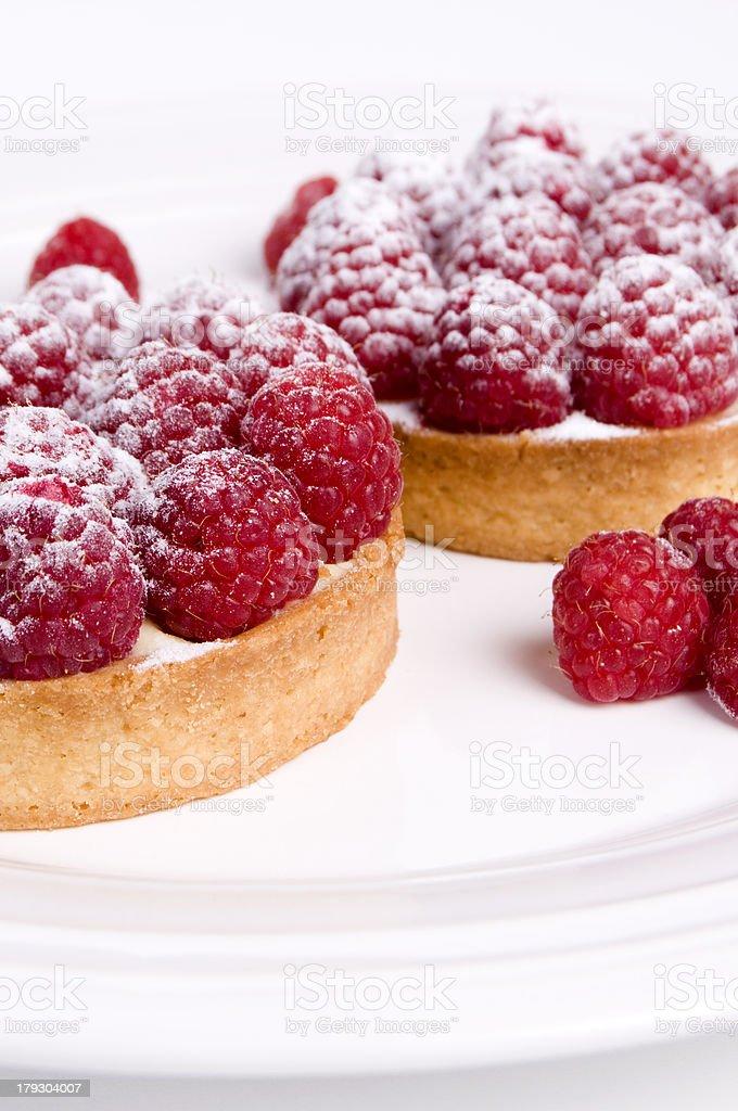 Berry Tarts Up Close royalty-free stock photo