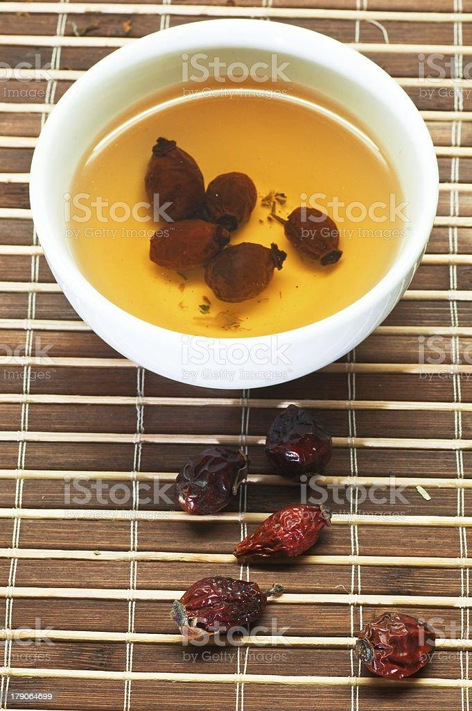 berry tea royalty-free stock photo